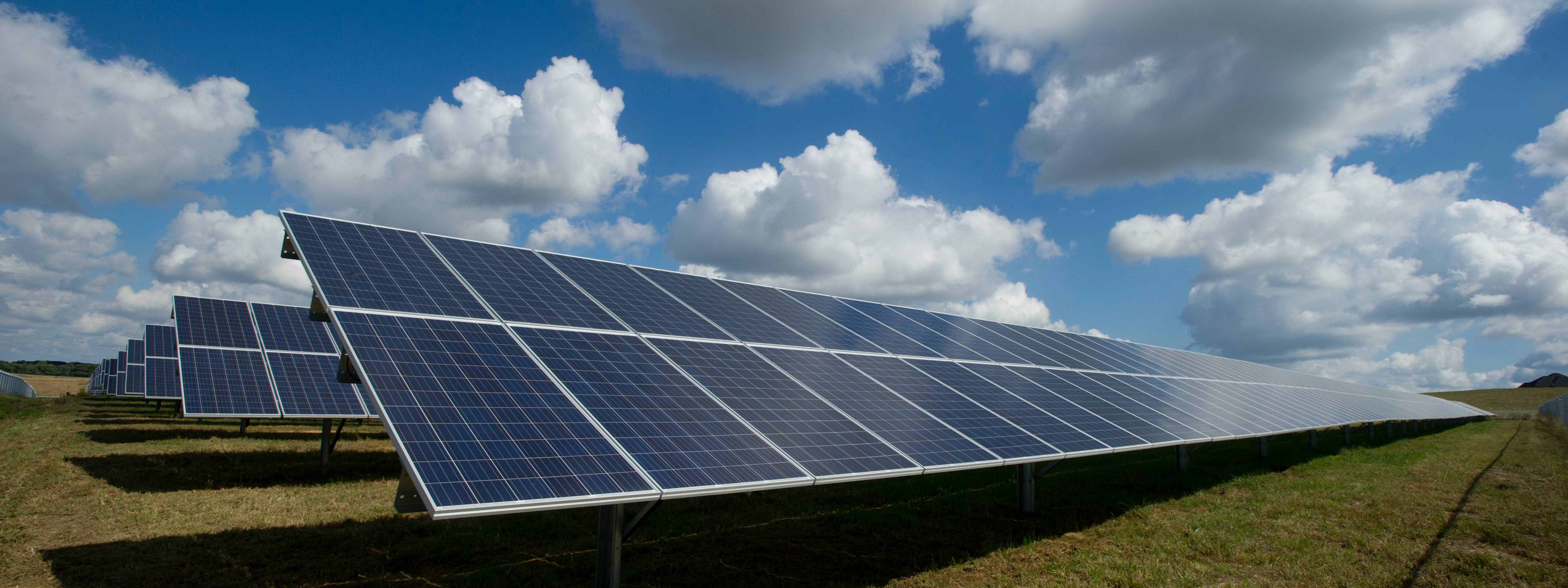 Where is the utility scale solar in PA?